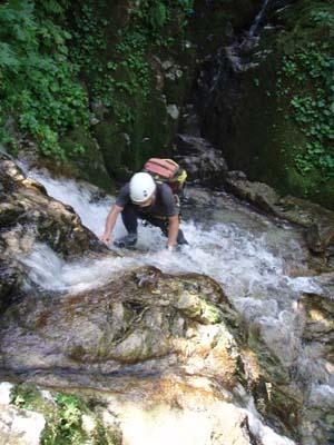 快適な水流の登り
