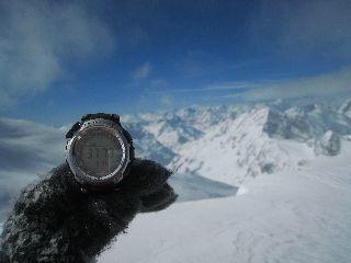 最高地点 テッテ・バルペリーヌ 3799m