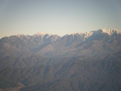 権現山から甲斐駒ヶ岳を望む