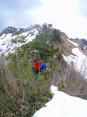 ソソギ山から筆塚山へ
