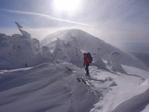 僧ヶ岳最後の登り