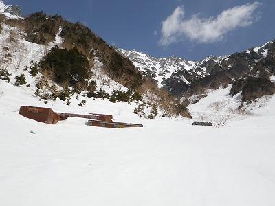 20150418岳沢コブ尾根 (28)