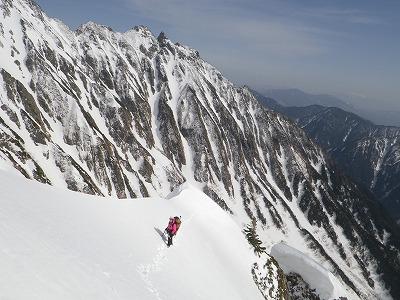 20150418岳沢コブ尾根 (82)