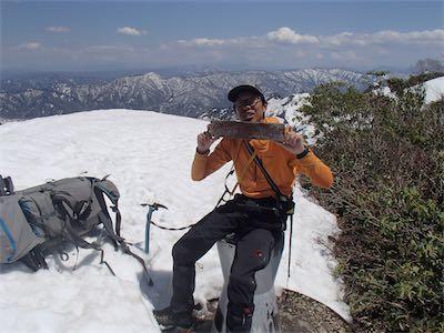 それでも山頂に到着しました!